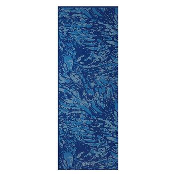 Gaiam, Mata do jogi , niebieski 17x61cm-GAIAM