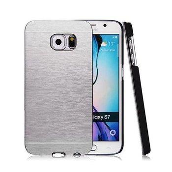 Galaxy S7 etui Motomo aluminiowe srebrny. PROMOCJA !!!-EtuiStudio