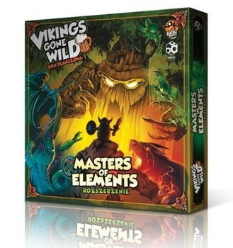 Games Factory, gra strategiczna Vikings gone wild Masters of Elelments-Games Factory Publishing