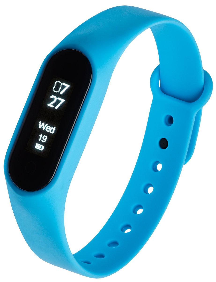 Smartband opaska sportowa Garett Fit Audio czarno niebieski