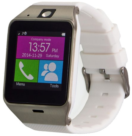 Garett, Smartwatch, Elegant, biały