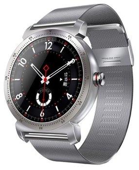 Garett, Smartwatch, GT20S, srebrny, stalowy-Garett