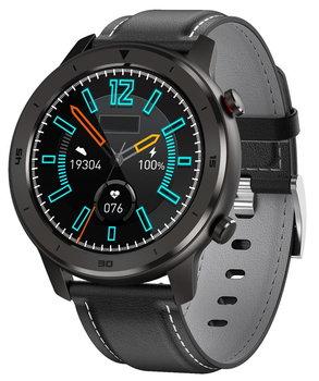 Garett, Smartwatch, Men 5S, czarny, skórzany-Garett
