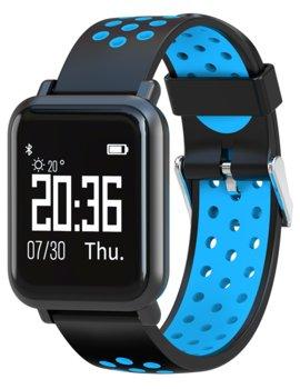 Garett, Smartwatch, Zegarek sportowy, Sport 17, czarno-niebieski -Garett