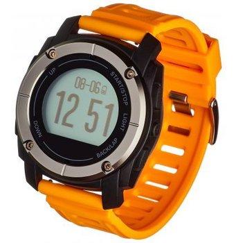 Garett, Smartwatch, Zegarek sportowy, Sport23 GPS, czarno-pomarańczowy-Garett