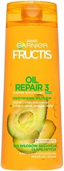 Garnier, Fructis Oil Repair 3, szampon wzmacniający 2w1 do włosów suchych i łamliwych, 400 ml-Garnier