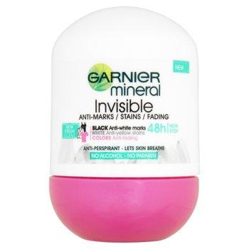 Garnier, Mineral Invisible, antyperspirant roll-on, 50 ml-Garnier