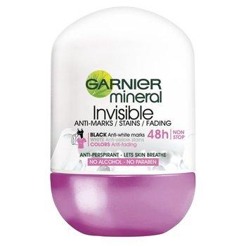 Garnier, Mineral Invisible, antyperspirant w kulce, 50 ml-Garnier