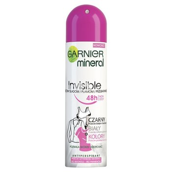 Garnier, Mineral Invisible, antyperspirant w sprayu, 150 ml - Garnier