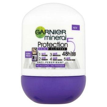 Garnier, Mineral Protection 5 Floral Fresh, antyperspirant w kulce, 50 ml-Garnier