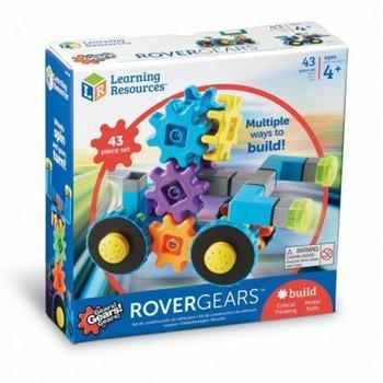 Gears! gears! gears!, klocki, koła zębate, łazik kosmiczny,-Learning Resources