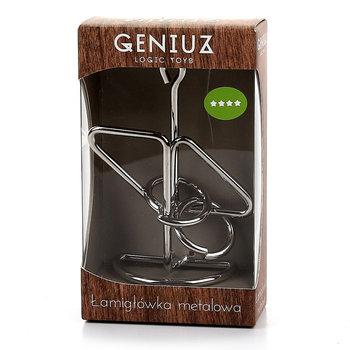 Geniuz, łamigłówka metalowa Lux 3-geniuz