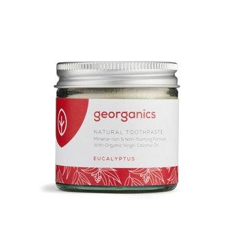 Georganics, mineralna pasta do zębów w słoiku Eucalyptus, 60 ml-Georganics