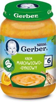 Gerber, Krem marchwiowo-dyniowy, 190 g-Gerber