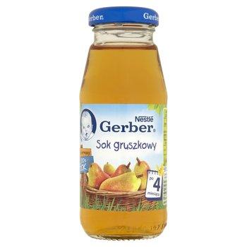 Gerber, Sok 100% gruszkowy, 175 ml, 4m+-Gerber