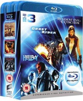 Ghost Rider/Resident Evil: Extinction/Hellboy-Johnson Mark Steven, Mulcahy Russell, Toro Guillermo del
