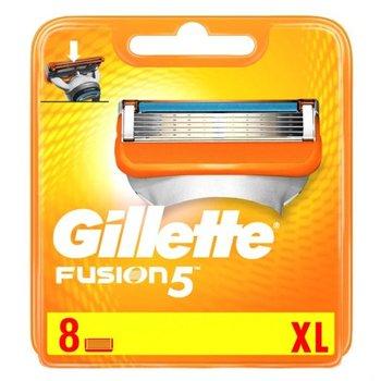 Gillette, Fusion, ostrze wymienne do maszynki do golenia, 8 szt.-Gillette