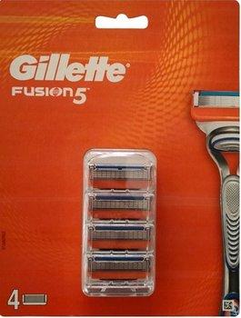Gillette FUSION5 ostrza wkłady 4ka 100% ORYGINALNE-Gillette