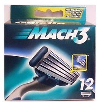 Gillette, Mach3, wkłady do maszynki, 12 szt.-Gillette
