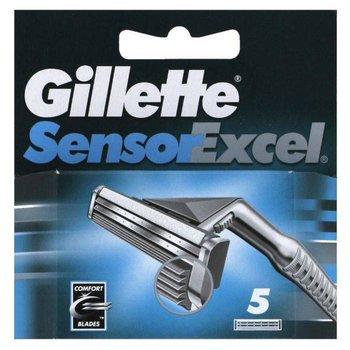 Gillette, Sensor Excel, ostrza wymienne do maszynki do golenia, 5 szt.-Gillette