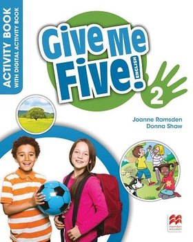 Give Me Five! 2. Activity Book + kod online-Shaw Donna, Ramsden Joanne