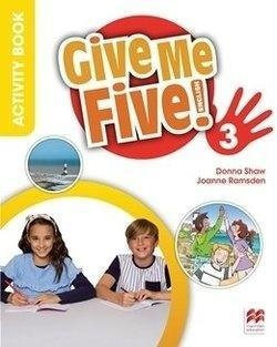 Give Me Five! 3. Activity Book + kod online-Shaw Donna, Ramsden Joanne