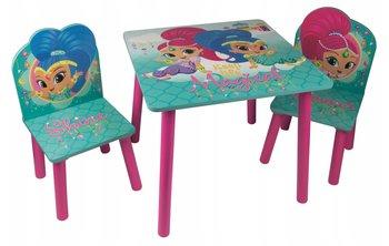 Global, Shimmer & Shine, Stolik i 2 krzesełka dla dzieci