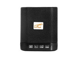 Głośnik Bluetooth LTC KOSTKA  z radiem FM AUX microSD - czarny