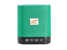 Głośnik Bluetooth LTC KOSTKA  z radiem FM AUX microSD - miętowy