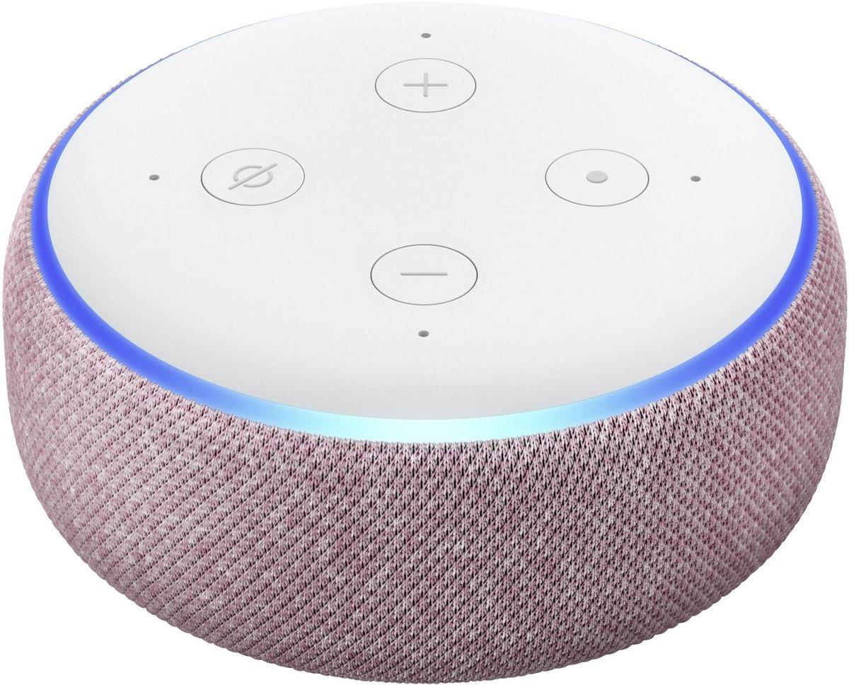 Głośnik inteligentny Amazon ECHO DOT 3rd Gen śliwkowy