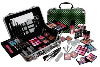 Gloss, zestaw do makijażu z kuferkiem-Gloss