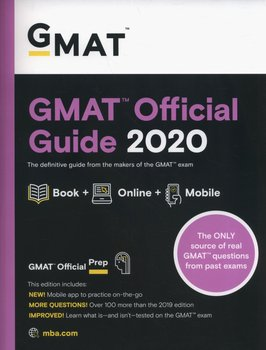 GMAT Official Guide 2020: Book + Online-Opracowanie zbiorowe