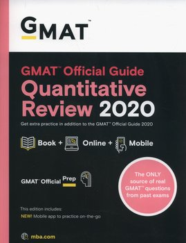 GMAT Official Guide 2020 Quantitative Review: Book + Online-Opracowanie zbiorowe