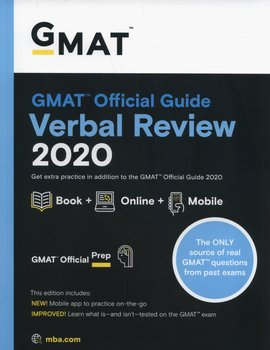 GMAT Official Guide 2020 Verbal Review: Book + Online - Opracowanie zbiorowe