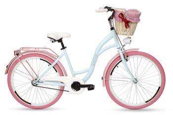 Goetze Rower Miejski Colours 26 Błękitno Różowy Goetze Sport