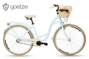 """Goetze, Rower miejski, Style 28"""", błękitno-kremowy-Goetze"""