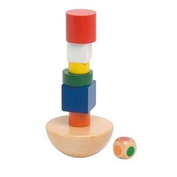 Goki, Balansująca wieża, zestaw klocków-Goki