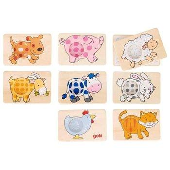 Goki, gra logiczna Memo zwierzęta-Goki