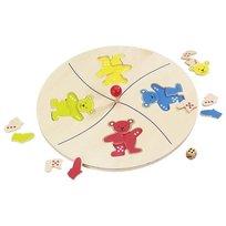 Goki, Gra Puzzle Układanie kolorowych Misiów