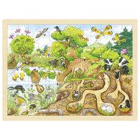 Goki, puzzle Natura