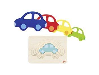 Goki, puzzle warstwowe Samochodzik-Goki