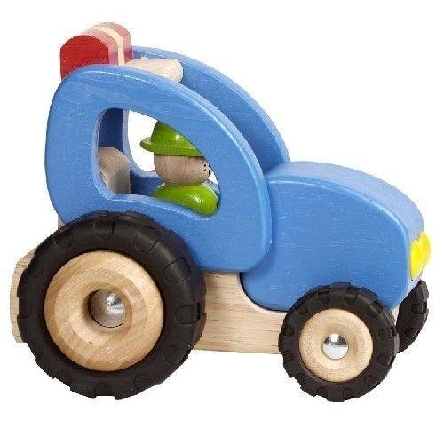 Goki, traktor drewniany