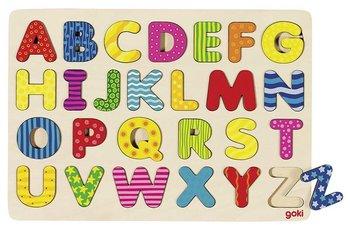 Goki, układanka klockowa Alfabet-Goki