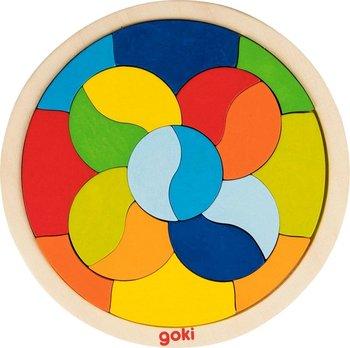 Goki, układanka puzzlowa Mandala-Goki