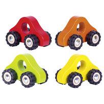 Goki, zabawka pojazd Drewniane autko