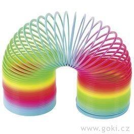 Goki, zabawka zręcznościowa Tęczowa sprężynka-Goki