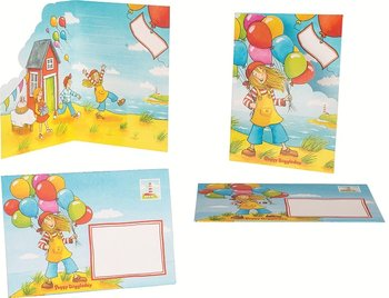 Goki Zaproszenia Urodzinowe 8 Sztuk Peggy Diggledey Goki Sklep