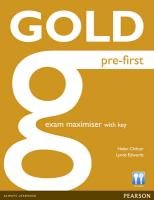 Gold Pre-First exam maximiser with key-Chilton Helen, Edwards Lynda