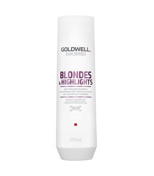 Goldwell, Dualsenses Blondes&Highlights, szampon neutralizujący do włosów blond, 250 ml-Goldwell