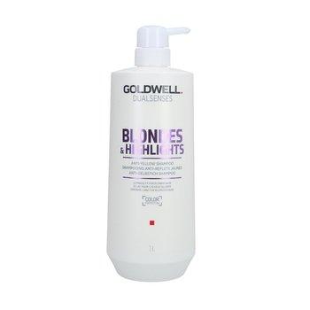 Goldwell, Dualsenses Color, szampon do włosów blond neutralizujący żółty odcień, 1000 ml-Goldwell